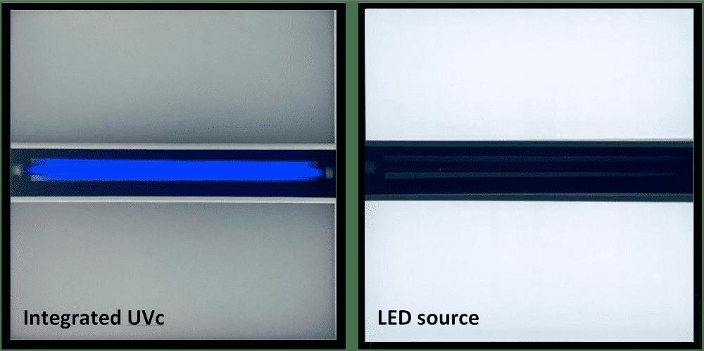 CLEENAIR series UVc luminaire range
